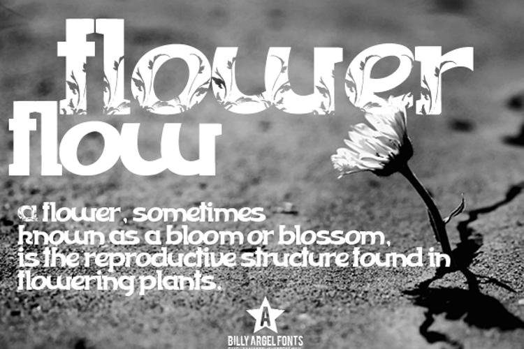 FLOWERFLOW Font