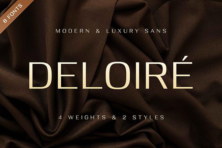 Deloire Bold Font