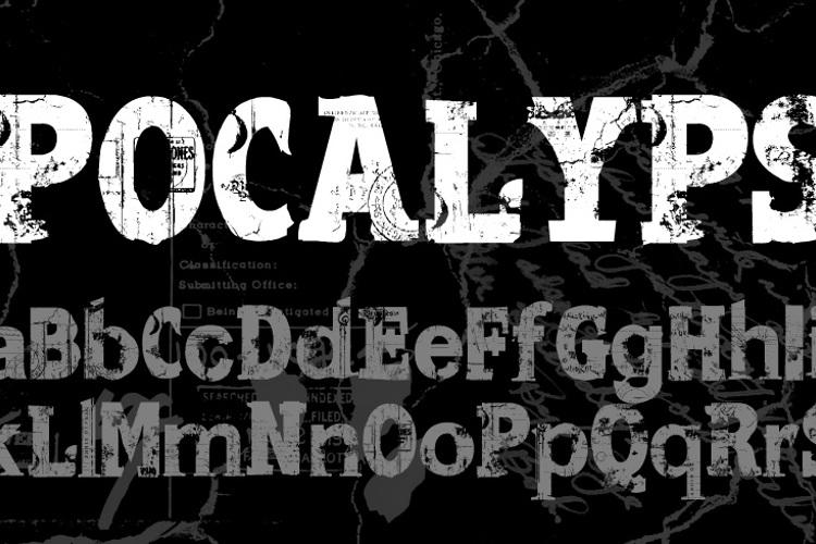 Apocalypse Regular Font