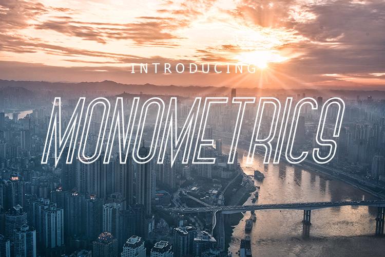 Monometrics Font