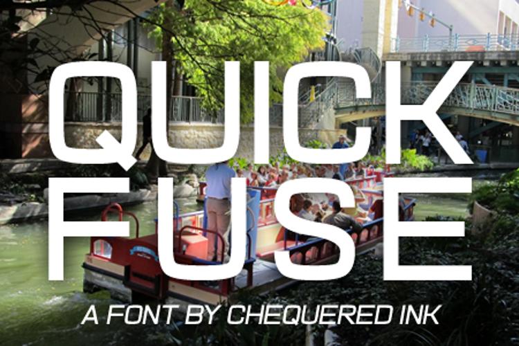 Quick Fuse Font