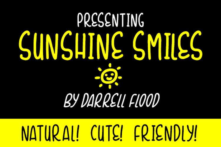 Sunshine Smiles Font
