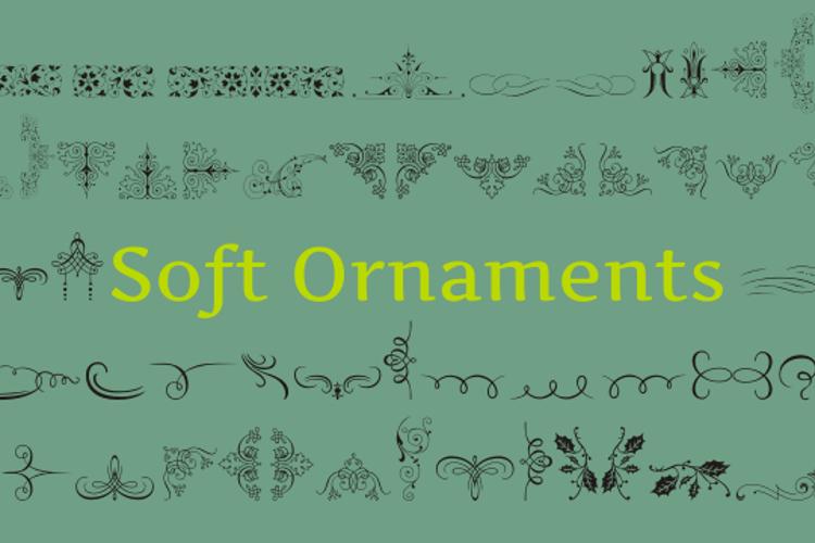 Soft Ornaments Font