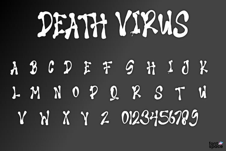 DEATH VIRUS Font