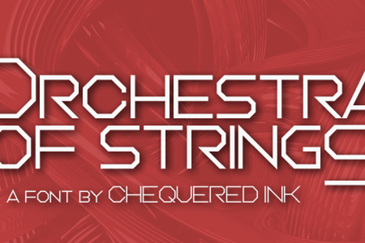 Orchestra of Strings Font