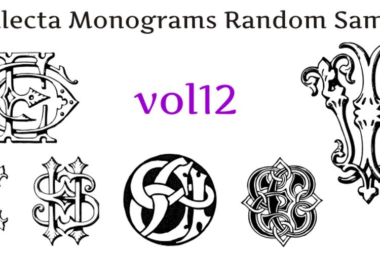 Intellecta Monograms Random Twelve Font