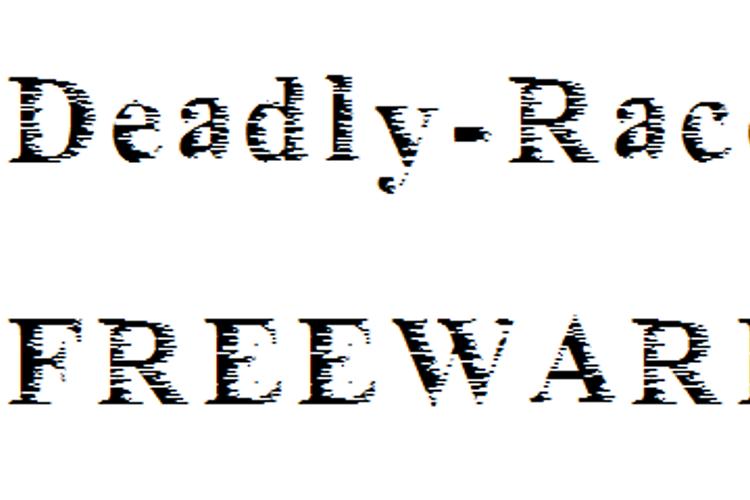 Deadly_race Font