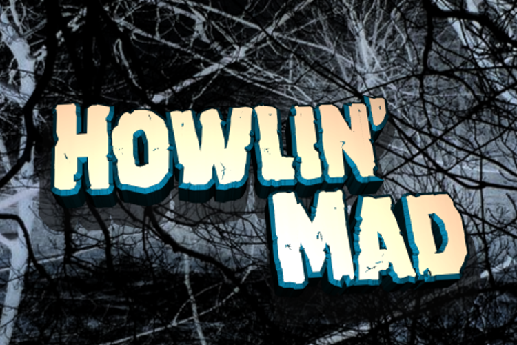 Howlin' Mad Font