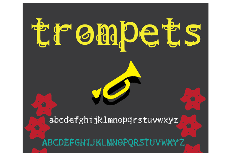 trompets Font
