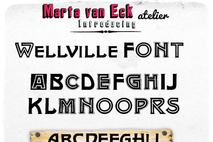 Wellville Font