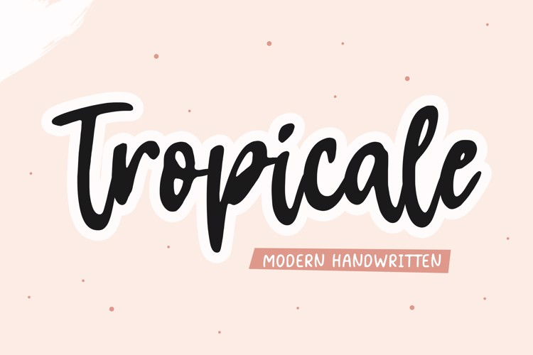 Tropicale Font