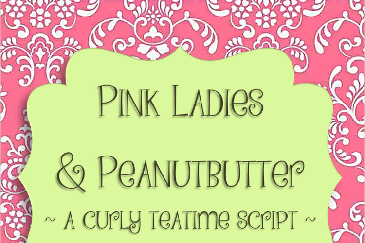 Pink Ladies and Peanutbutte Font