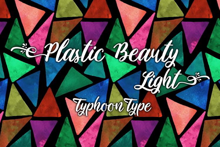 Plastic Beauty Light Font