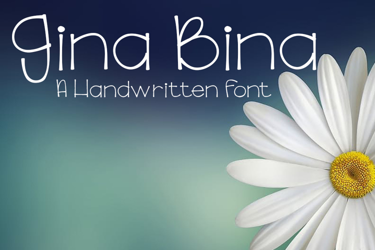 GinaBinaRegular Font