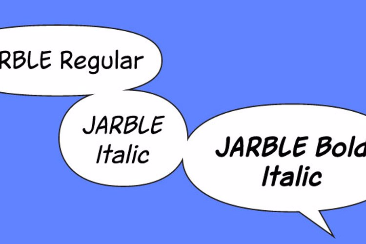Jarble Font