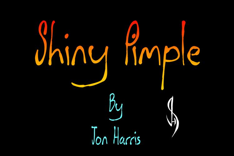 Shiny Pimple Font