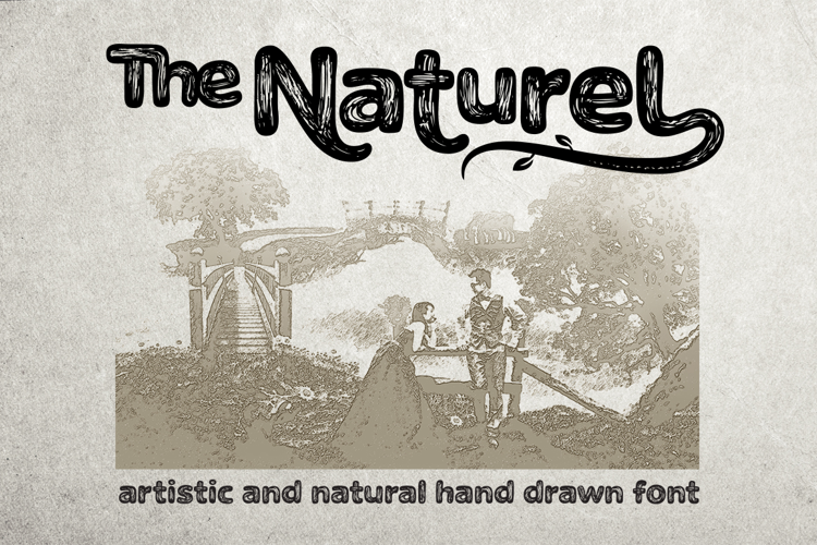 The Naturel Txt Font