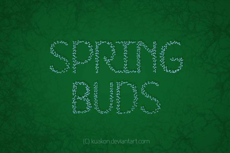 HKH Spring Buds  Font