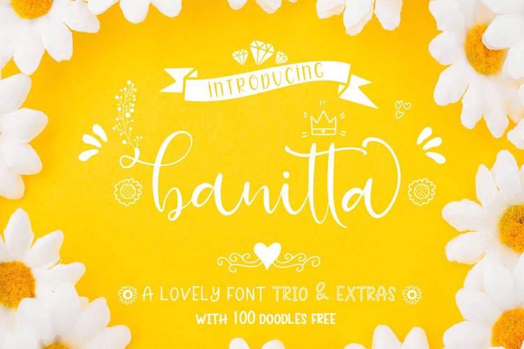 banitta Script Font