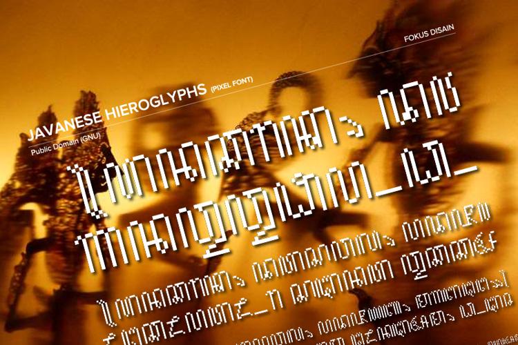 JavaneseHierogly Font