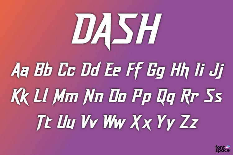 Dash Font
