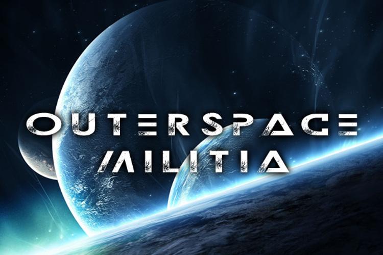Outerspace Militia Font