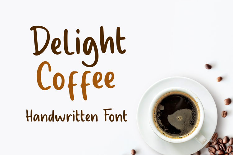 Delight Coffee Font