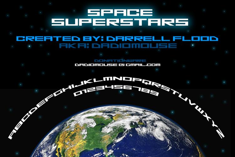 Space Superstars Font
