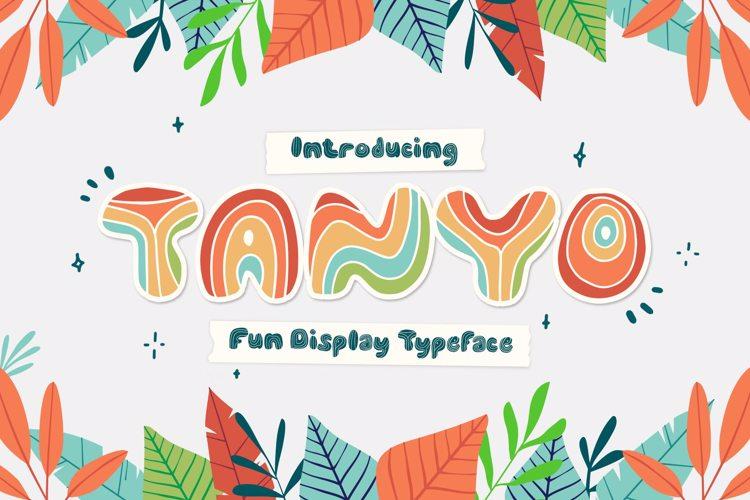 TANYO Font