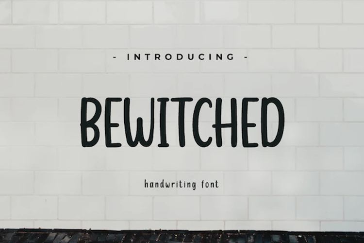 BEWITCHED PERSONAL Font