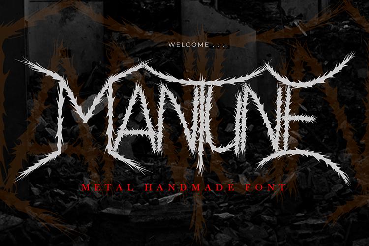 Mantune Font
