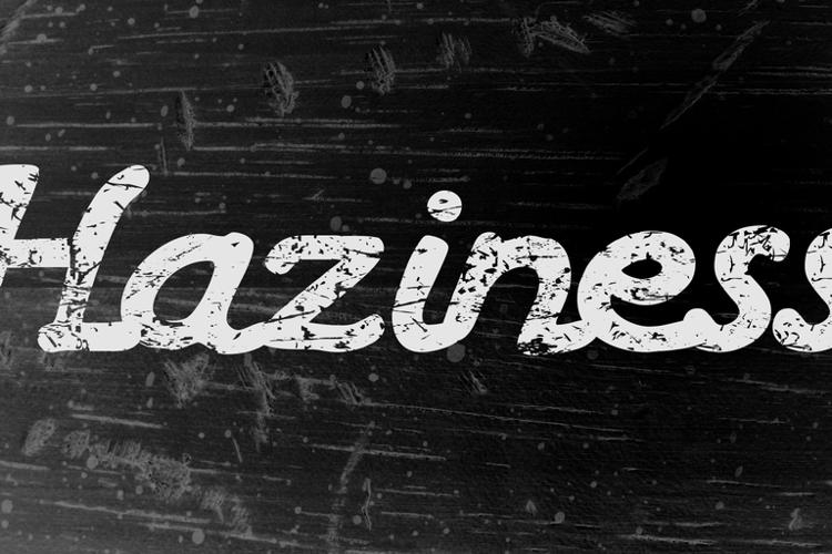 Haziness Font
