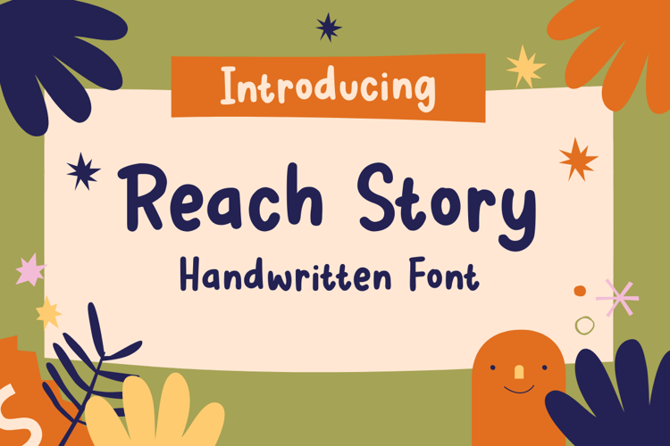 Reach Story Font