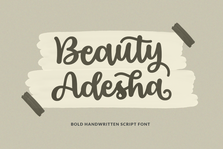 Beauty Adesha Font