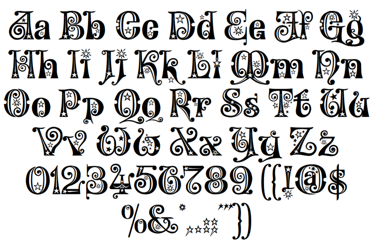 Kingthings Willow Font