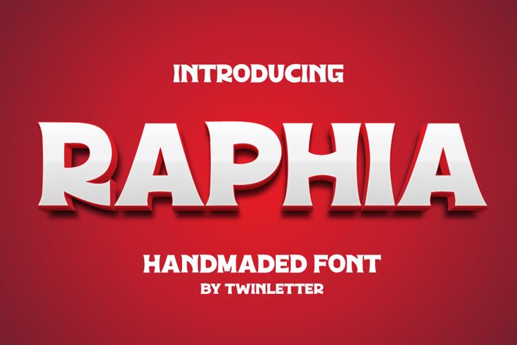 Raphia Font