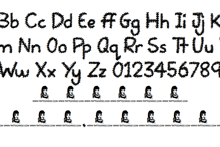 Squiggles Font