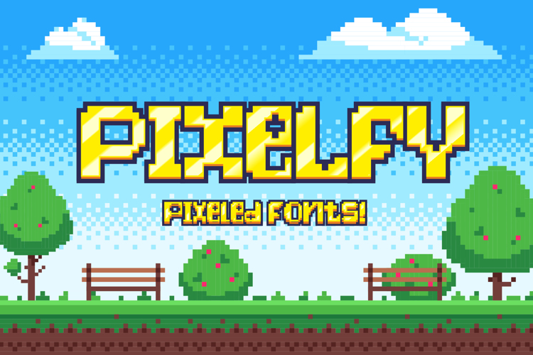 Pixelfy Font