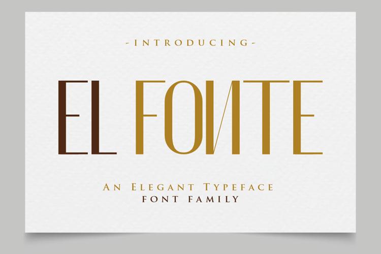 El Fonte Font