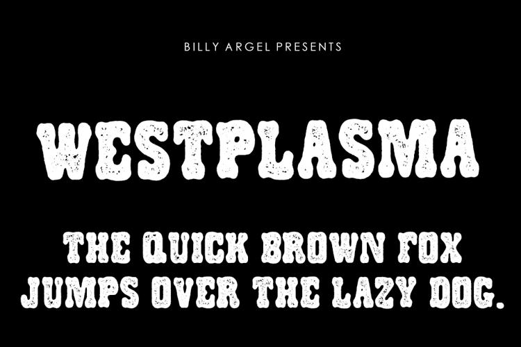 WESTPLASMA Font