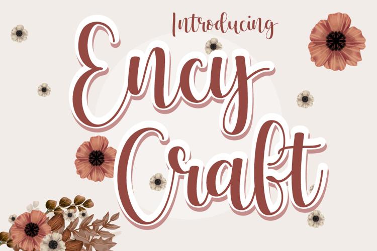 Ency Craft Font