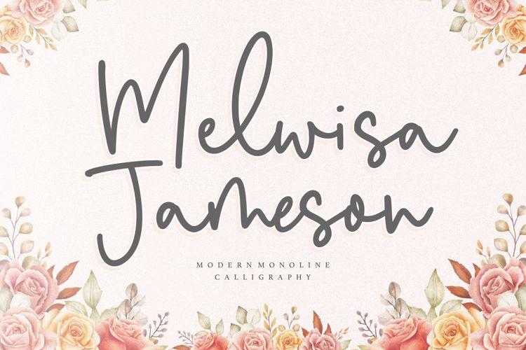 Melwisa Jameson Font
