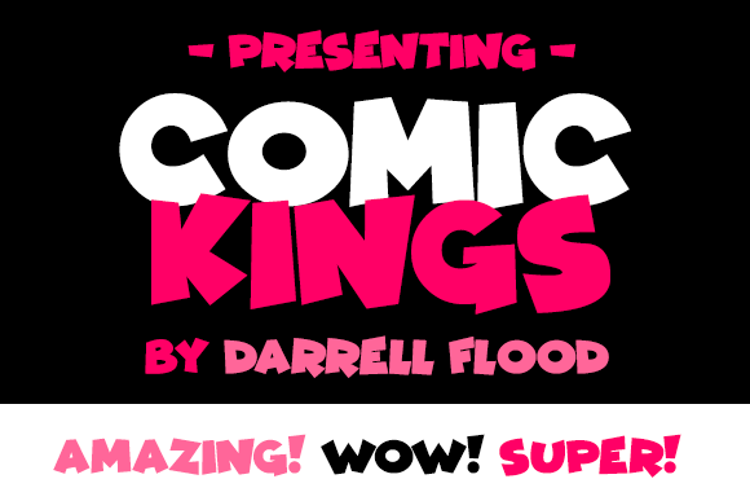 Comic Kings Font