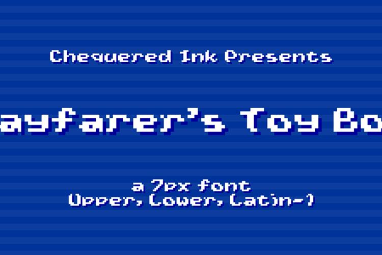 Wayfarer's Toy Box Font