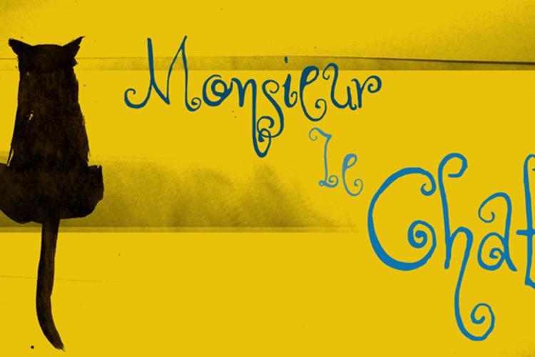 DK Monsieur Le Chat Font