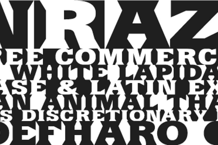 SinRazon Font