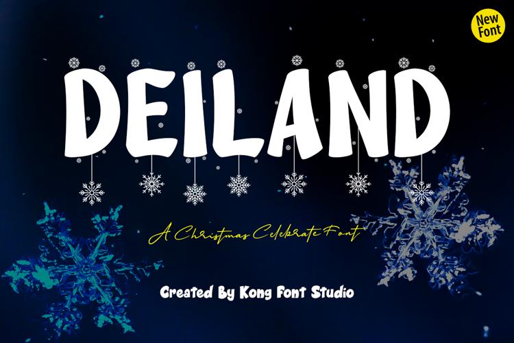 Deiland Font