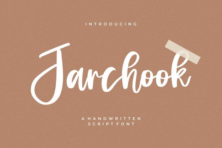 Jarchook Font