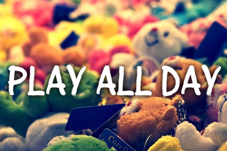 Play all day Font