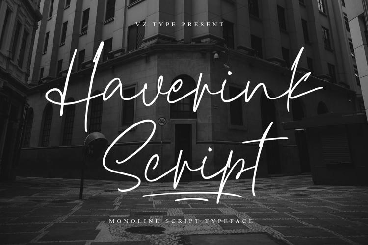 Haverink Script Font